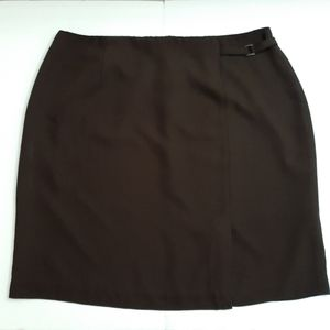 Style&co. Brown skirt Plus Size 20W